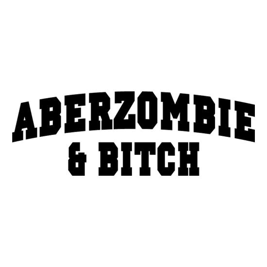 Aberzombie & Bitch t-shirts