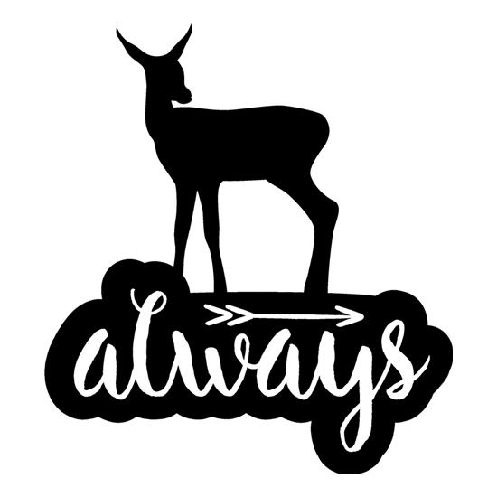 Always Deer t-shirts