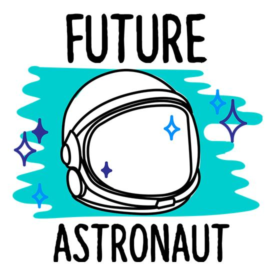Future Astronaut t-shirts
