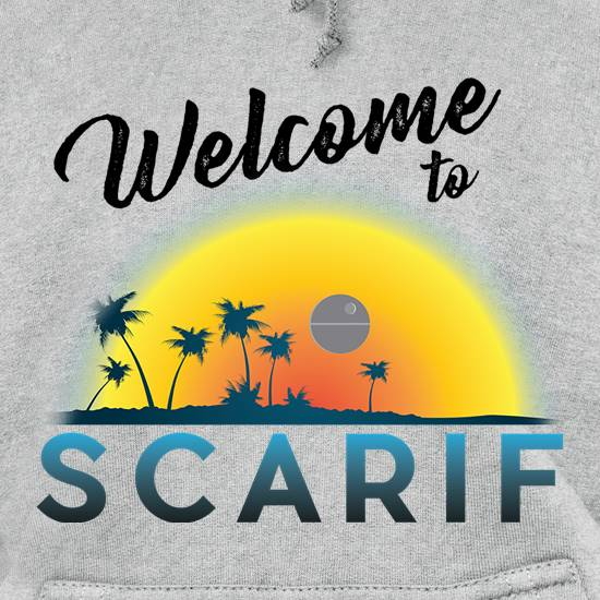 Welcome to Scarif Hoodies