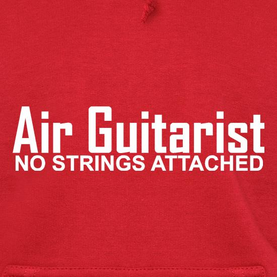 Air Guitarist - No Strings attached Hoodies