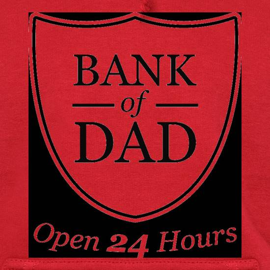Bank Of Dad Hoodies