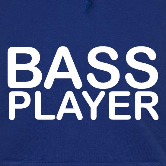 Bass player Hoodies