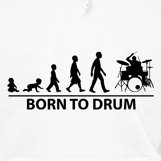 Born To Drum Hoodies