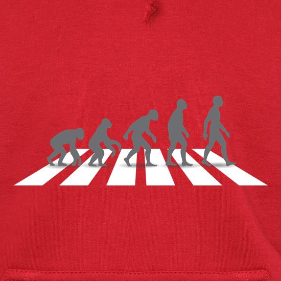 Evolution Of Man Abbey Road Hoodies