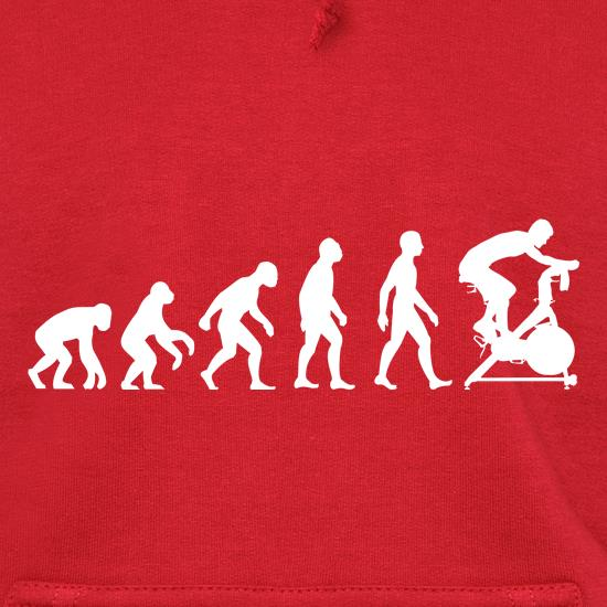 Evolution Of Man Spin Hoodies
