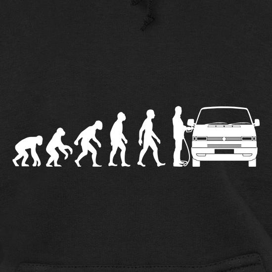 Evolution of Man T4 Campervan Hoodies