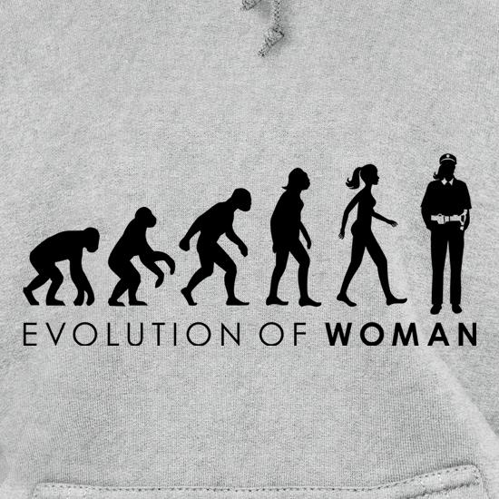 Evolution Of Police Woman Hoodies