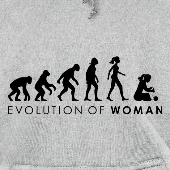 Evolution Of Woman Knitting Hoodies