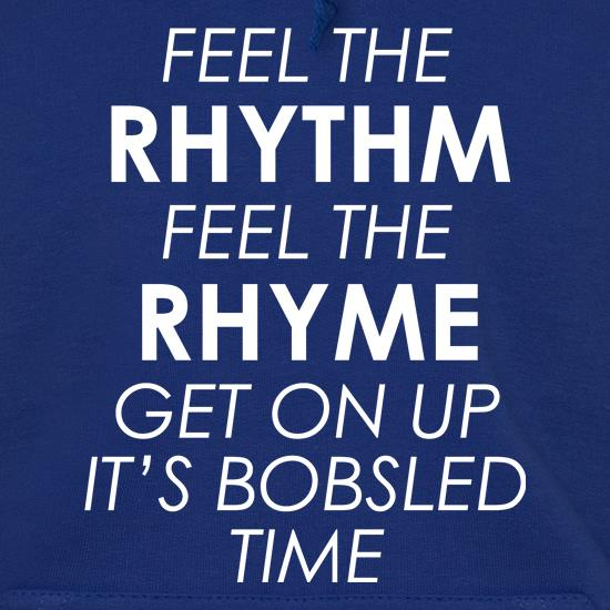 Feel The Rhythm, Feel The Rhyme Hoodies