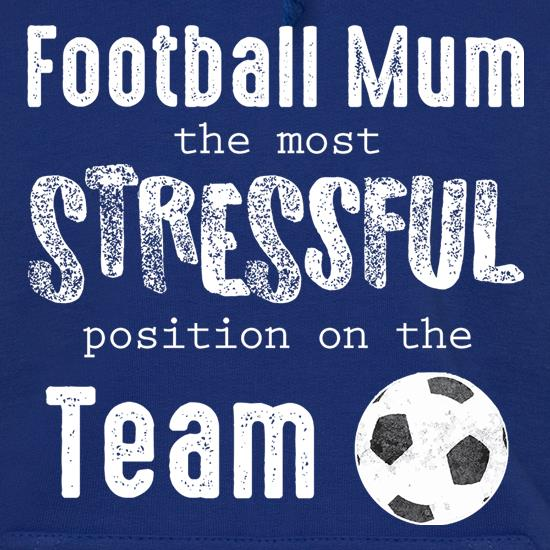 Football Mum Hoodies