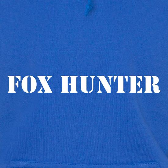 Fox Hunter Hoodies
