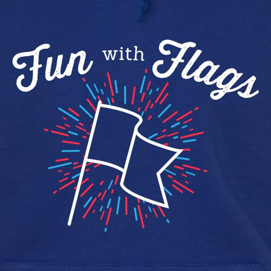 Fun With Flags Hoodies