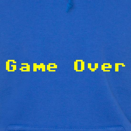 Game Over Player Hoodies