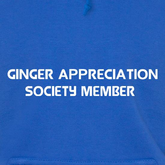Ginger appreciation society member Hoodies