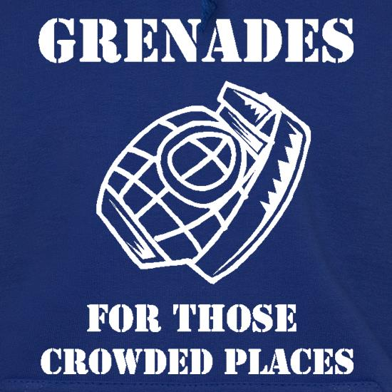 Grenades for those crowded places Hoodies
