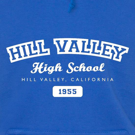 Hill Valley High School Hoodies