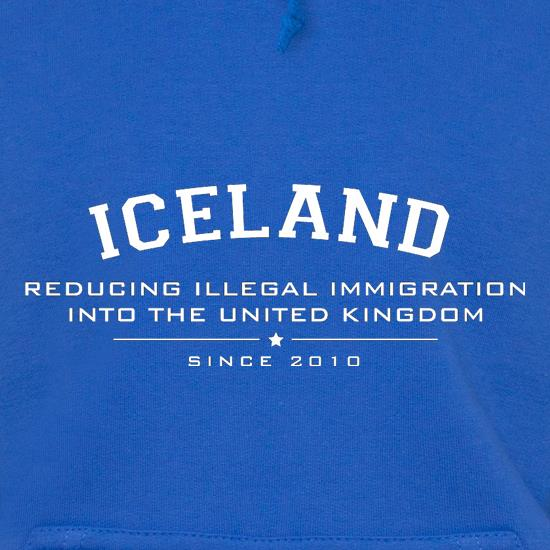 Iceland Reducing Illegal Immigration Since 2010 Hoodies