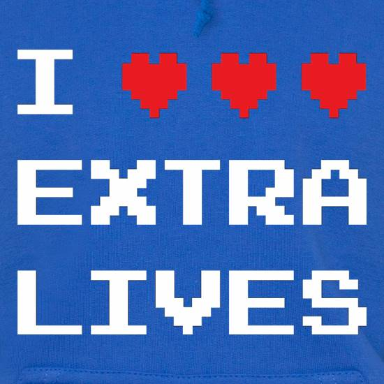 I Heart Extra Lives Hoodies