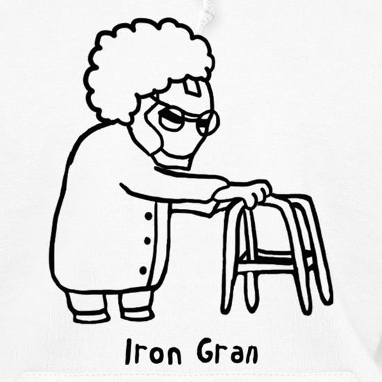 Iron Gran Hoodies