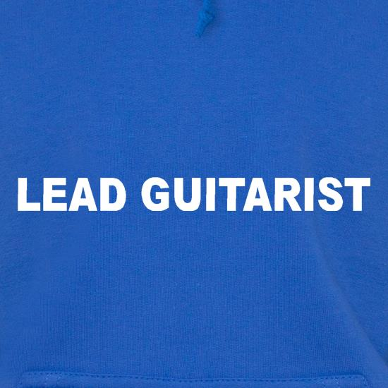 Lead Guitarist Hoodies