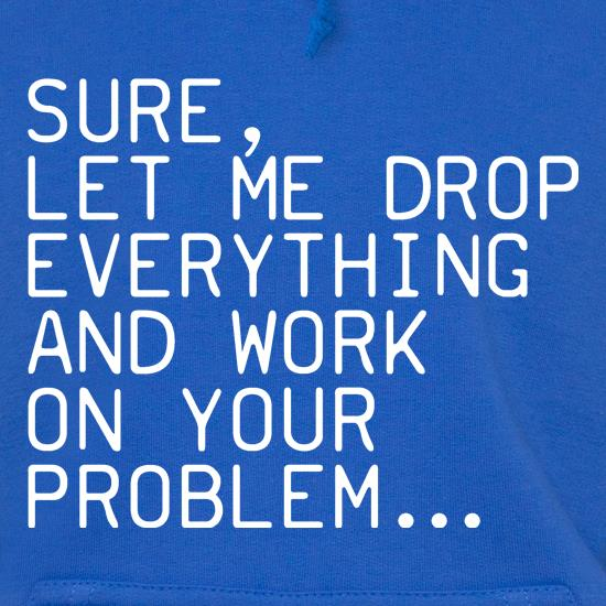 Let Me Work On Your Problem Hoodies