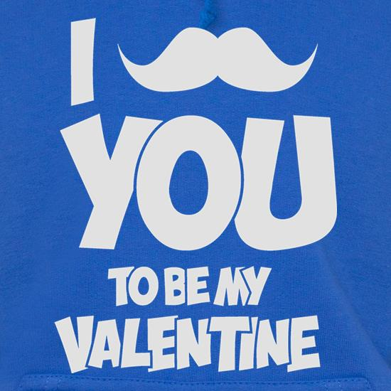 Moustache You To Be My Valentine Hoodies