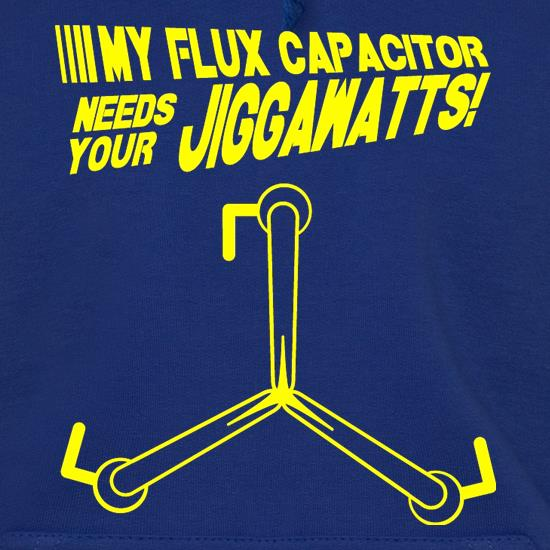 My Flux Capacitor Needs Your Jiggawatts Hoodies