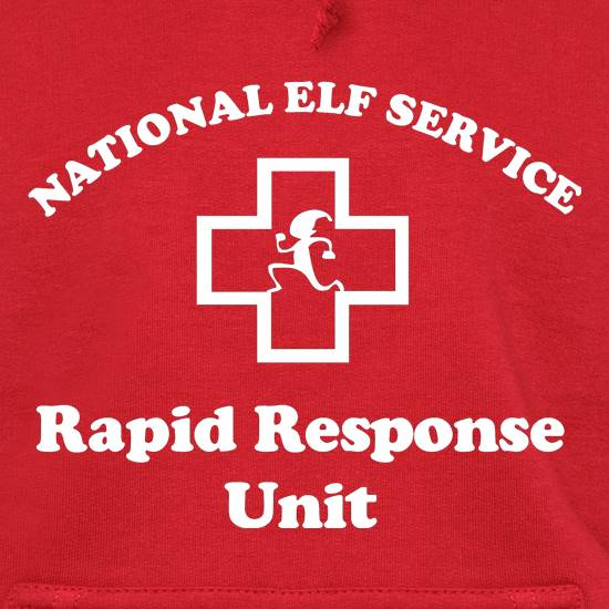 National Elf Service - Rapid Response team Hoodies