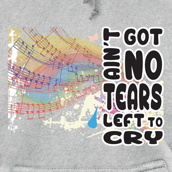 No Tears Left Hoodies