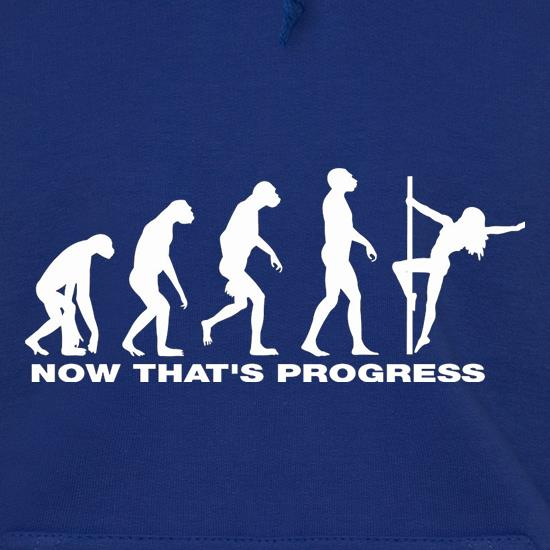 Now That's Progress Hoodies
