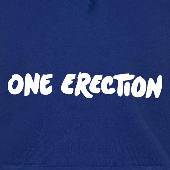 One Erection Hoodies
