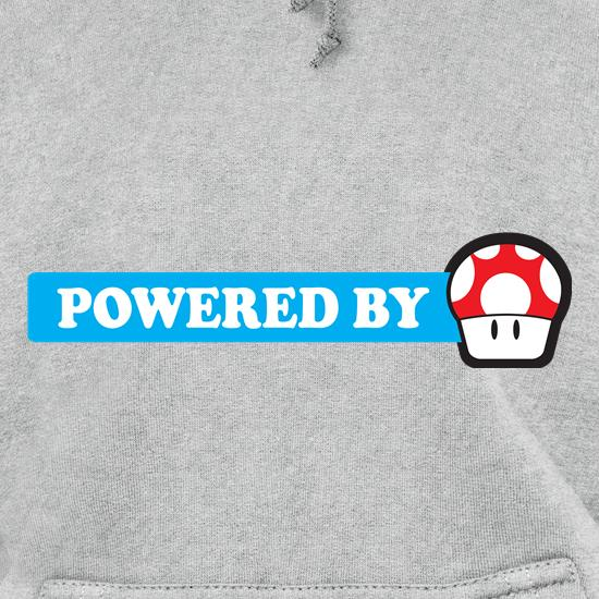 Powered By Mushroom Hoodies