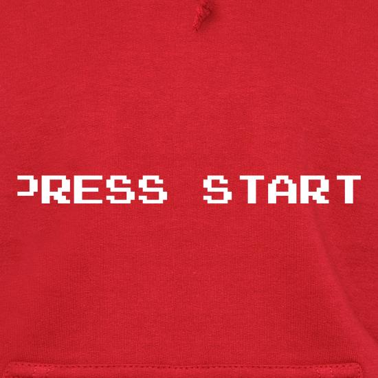 Press Start Hoodies