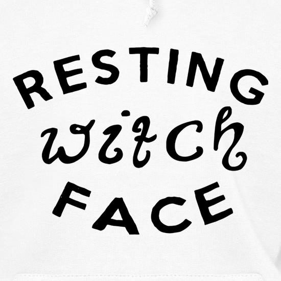 Resting Witch Face Hoodies