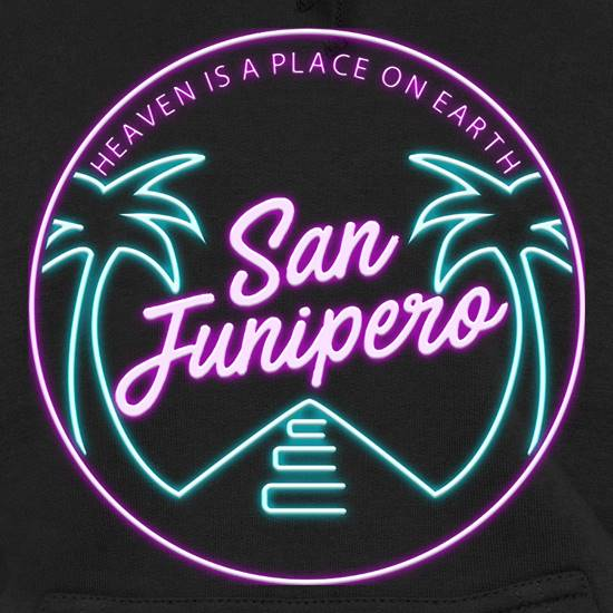 San Junipero Hoodies