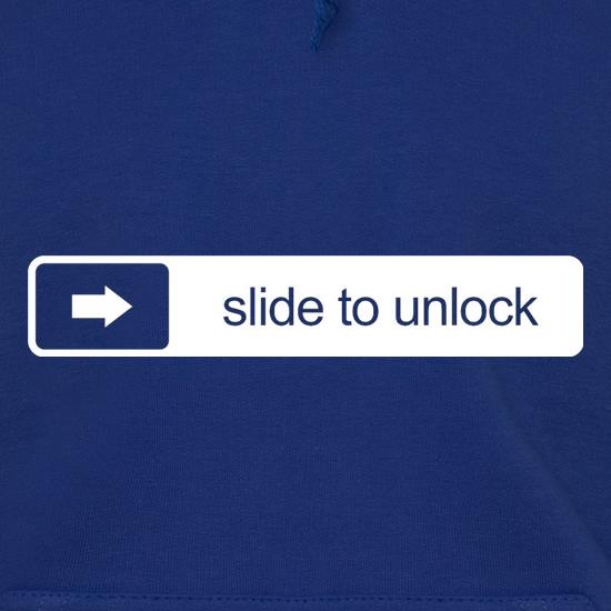 Slide To Unlock Hoodies