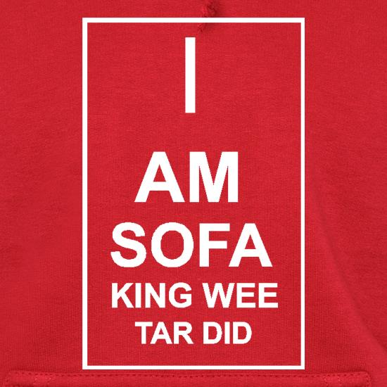 I  am sofa king wee tar did Hoodies