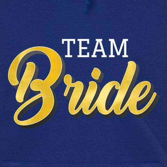 Team Bride Hoodies