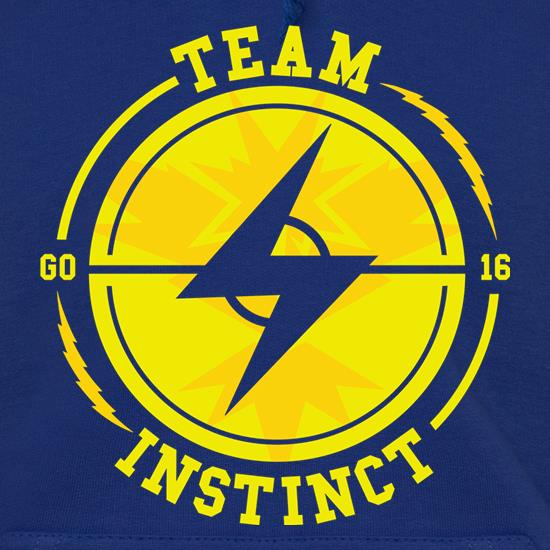 Team Instinct GO Hoodies