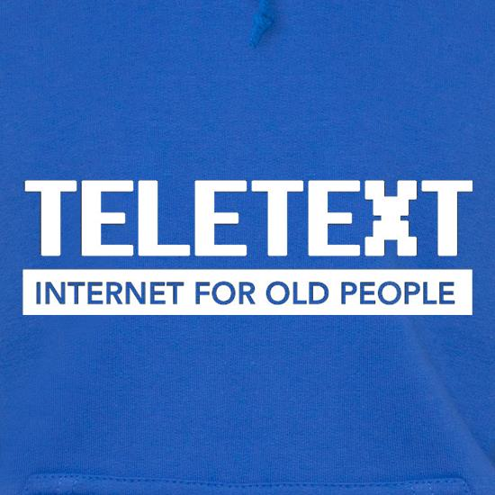 Teletext Internet For Old People Hoodies