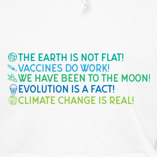 The Earth Is Not Flat Hoodies