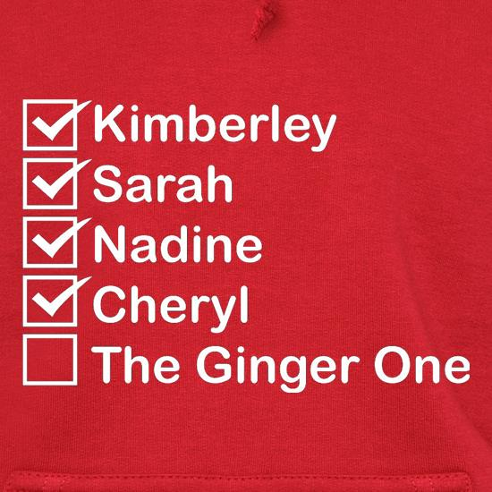 The Ginger One Hoodies