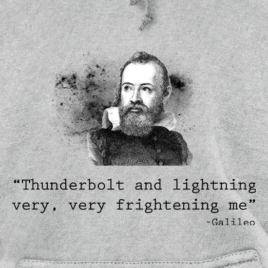 Thunderbolt & Lightening Hoodies
