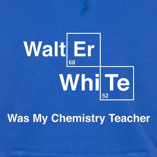 Walter White Was My Chemistry Teacher Hoodies