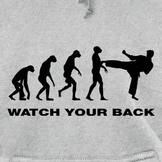 Watch Your Back Evolution Hoodies