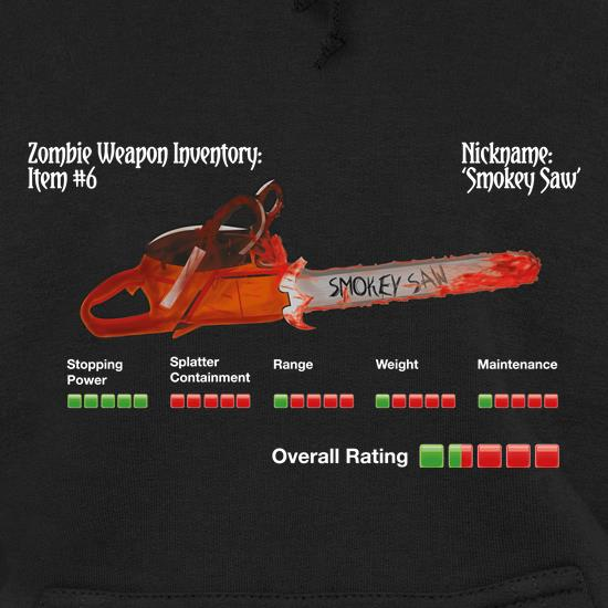 Zombie Smokey Saw Hoodies