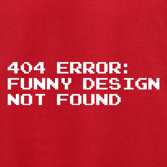 404 Error Funny Design Not Found Jumpers