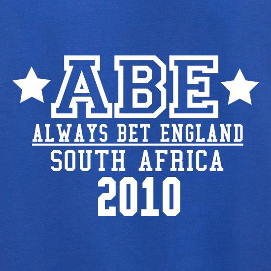 ABE Always Bet England Jumpers