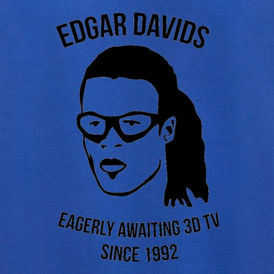 Edgar Davids: Eagerly Awaiting 3D TV Since 1992 Jumpers